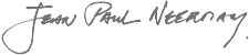 Signature Jean Paul Neerman